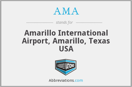 AMA - Amarillo International Airport, Amarillo, Texas USA
