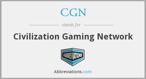 CGN - Civilization Gaming Network