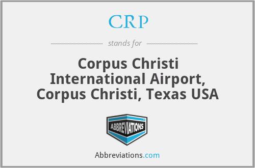 CRP - Corpus Christi International Airport, Corpus Christi, Texas USA