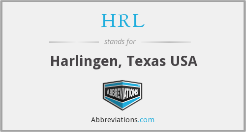 What does HRL stand for?