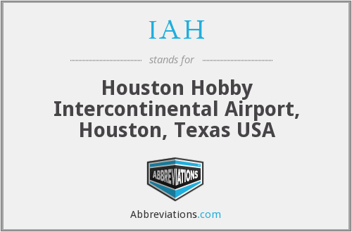 IAH - Houston Hobby Intercontinental Airport, Houston, Texas USA