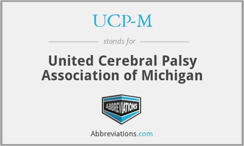 UCP-M - United Cerebral Palsy Association of Michigan