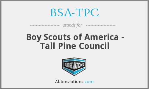 BSA-TPC - Boy Scouts of America - Tall Pine Council