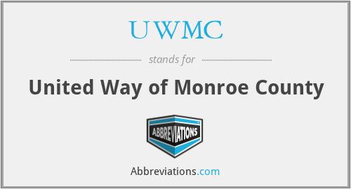 UWMC - United Way of Monroe County