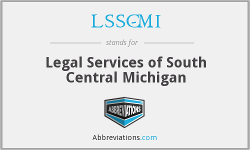 LSSC-MI - Legal Services of South Central Michigan