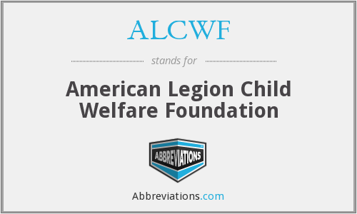 What does ALCWF stand for?