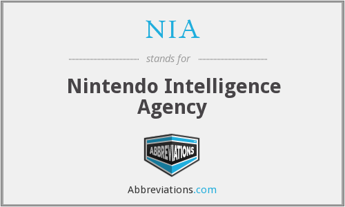 NIA - Nintendo Intelligence Agency