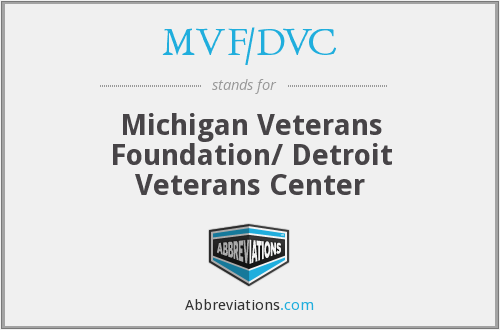 What does MVF/DVC stand for?