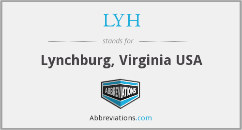 LYH - Lynchburg, Virginia USA