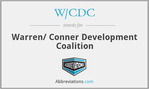 W/CDC - Warren/ Conner Development Coalition
