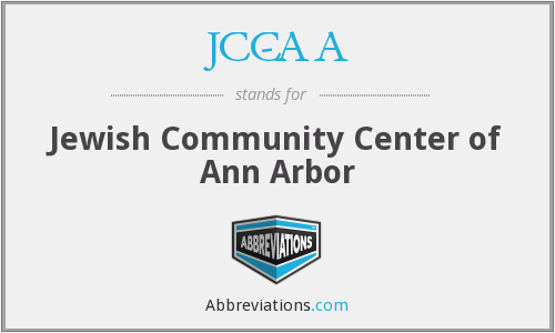 JCC-AA - Jewish Community Center of Ann Arbor