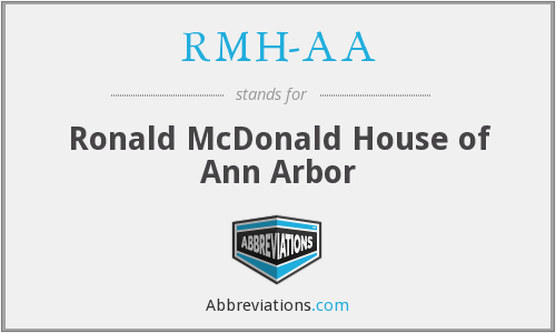 What does RMH-AA stand for?