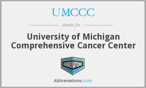 What does UMCCC stand for?