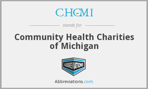 CHC-MI - Community Health Charities of Michigan