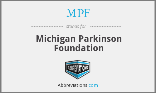 MPF - Michigan Parkinson Foundation