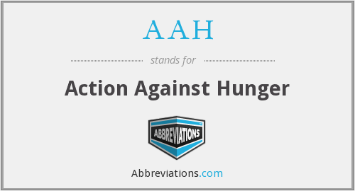 AAH - Action Against Hunger