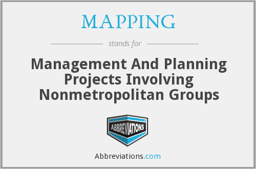 What does MAPPING stand for?