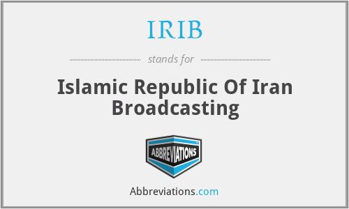 IRIB - Islamic Republic Of Iran Broadcasting