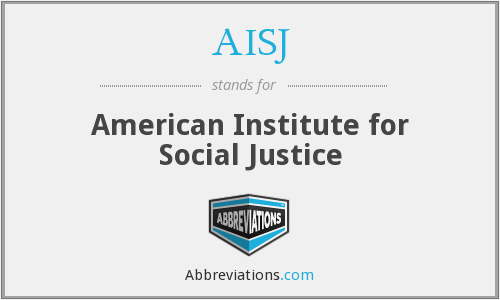 AISJ - American Institute for Social Justice