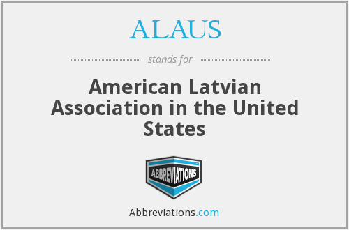 What does ALAUS stand for?