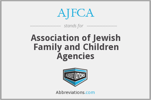 AJFCA - Association of Jewish Family and Children Agencies