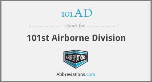 101AD - 101st Airborne Division