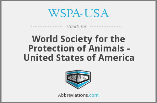What does WSPA-USA stand for?