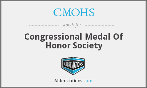 CMOHS - Congressional Medal Of Honor Society