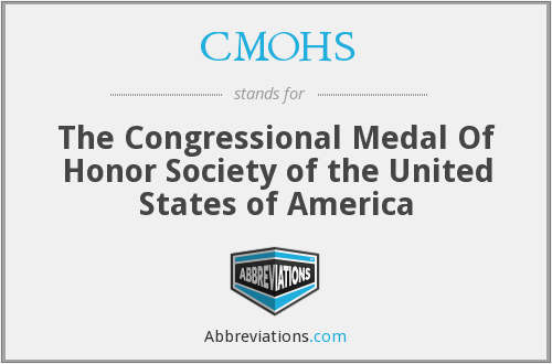 CMOHS - The Congressional Medal Of Honor Society of the United States of America