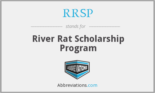 RRSP - River Rat Scholarship Program
