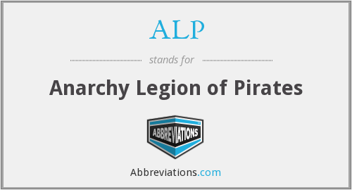 ALP - Anarchy Legion of Pirates