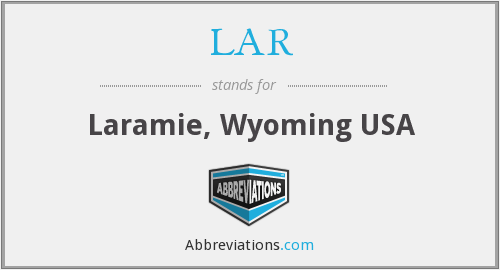 LAR - Laramie, Wyoming USA
