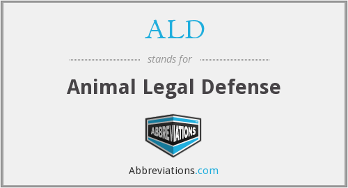 ALD - Animal Legal Defense