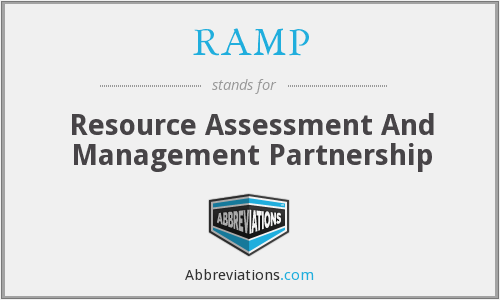 RAMP - Resource Assessment And Management Partnership