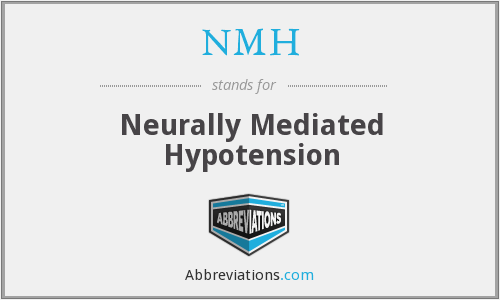NMH - Neurally Mediated Hypotension