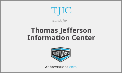 TJIC - Thomas Jefferson Information Center