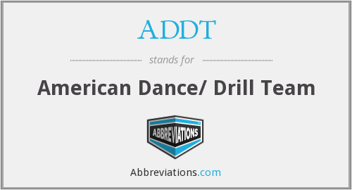 What does ADDT stand for?