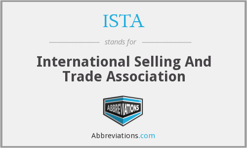 ISTA - International Selling And Trade Association