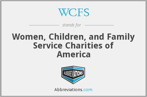 WCFS - Women, Children, and Family Service Charities of America