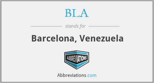 BLA - Barcelona, Venezuela