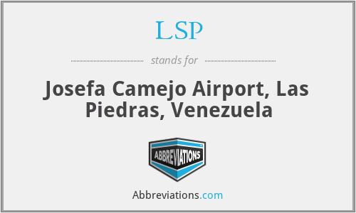LSP - Josefa Camejo Airport, Las Piedras, Venezuela