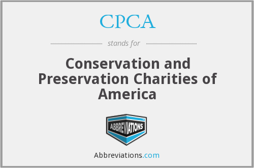 CPCA - Conservation and Preservation Charities of America