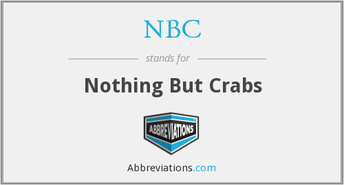 NBC - Nothing But Crabs