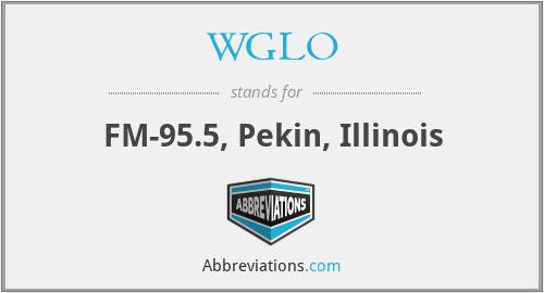 WGLO - FM-95.5, Pekin, Illinois