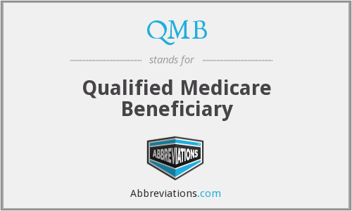 QMB - Qualified Medicare Beneficiary