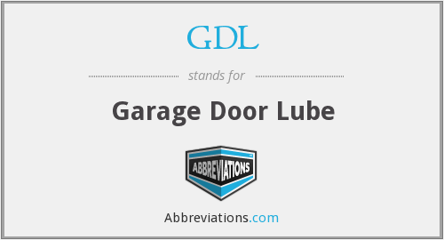 What does GDL stand for?