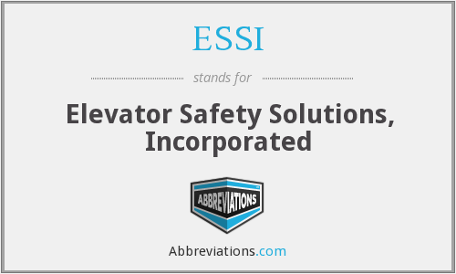 ESSI - Elevator Safety Solutions, Inc.