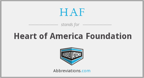 HAF - Heart of America Foundation