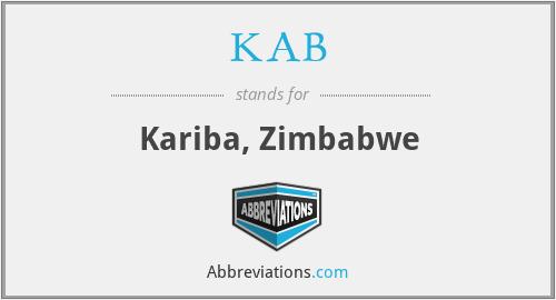KAB - Kariba, Zimbabwe