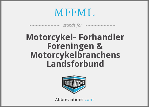 What does MFFML stand for?